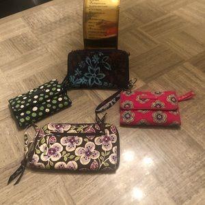 Vera Bradley lot of wallets